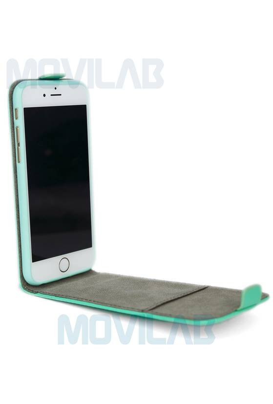 Funda tapa vertical Apple Iphone 6 abierta