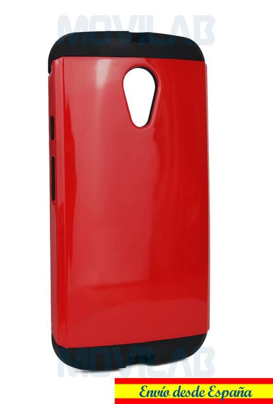 Funda  Moto G2 roja