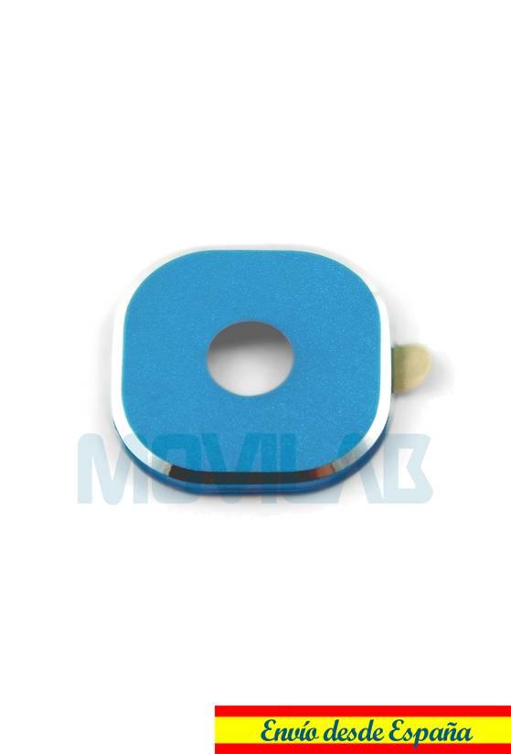 Protector adhesivo camara Samsung Galaxy S6 / S6 Edge Azul
