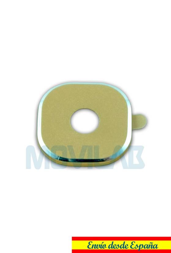 Protector adhesivo camara Samsung Galaxy S6 / S6 Edge Dorado