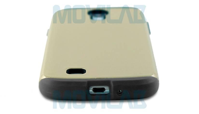 Funda Carcasa Samsung Galaxy S4 I9505 Abertura Conectores inferior