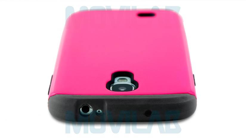 Funda carcasa Samsung Galaxy S4 Abertura conectores inferior