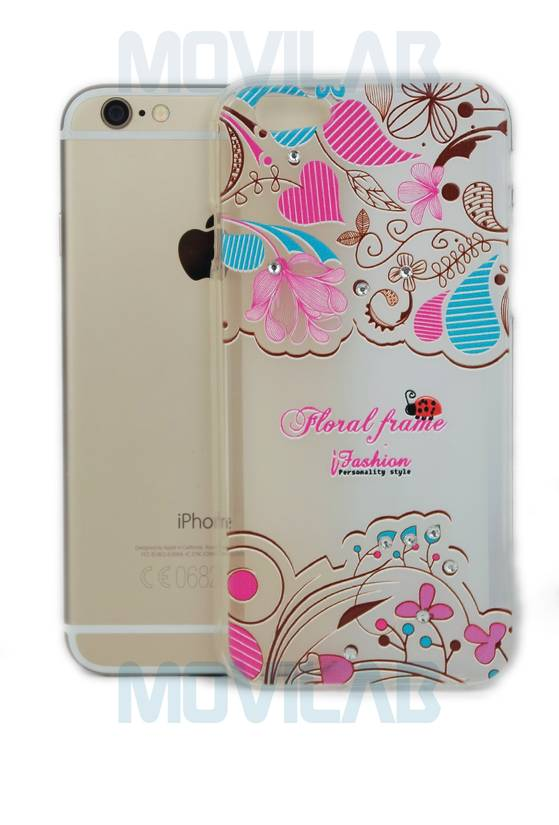 Funda carcasa Apple Iphone 6 deco par