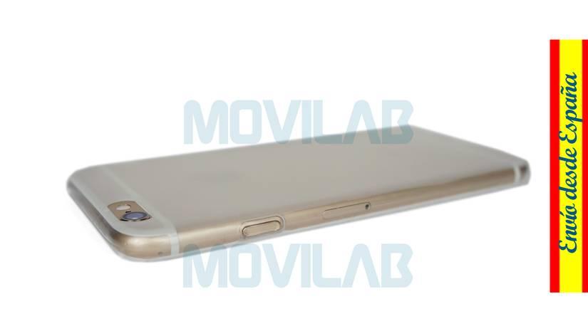 Funda carcasa Apple Iphone 6 semitransparente lateral