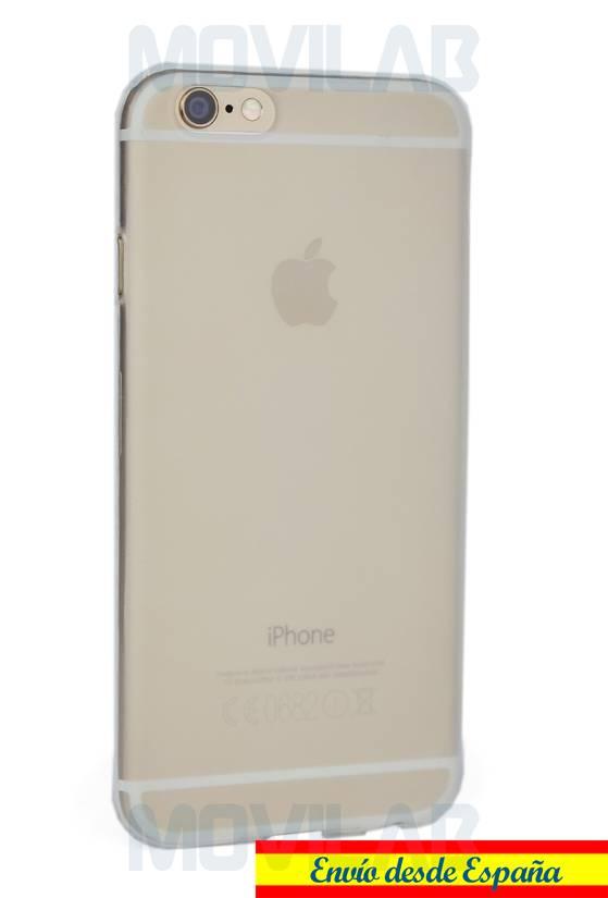 Funda carcasa Apple Iphone 6 semitransparente