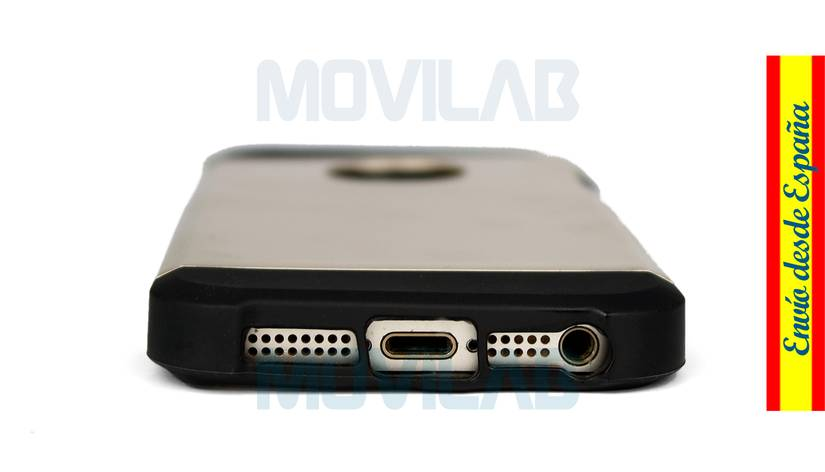 Funda carcasa Iphone 5 / 5S aberturas conectores