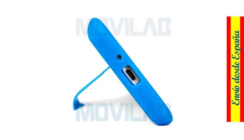 Funda carcasa Samsung Galaxy S4 soporte conectores