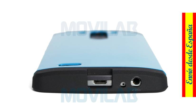 Funda carcasa LG G3 conectores inferior