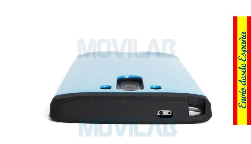 Funda carcasa LG G3 antigolpes conectores superior