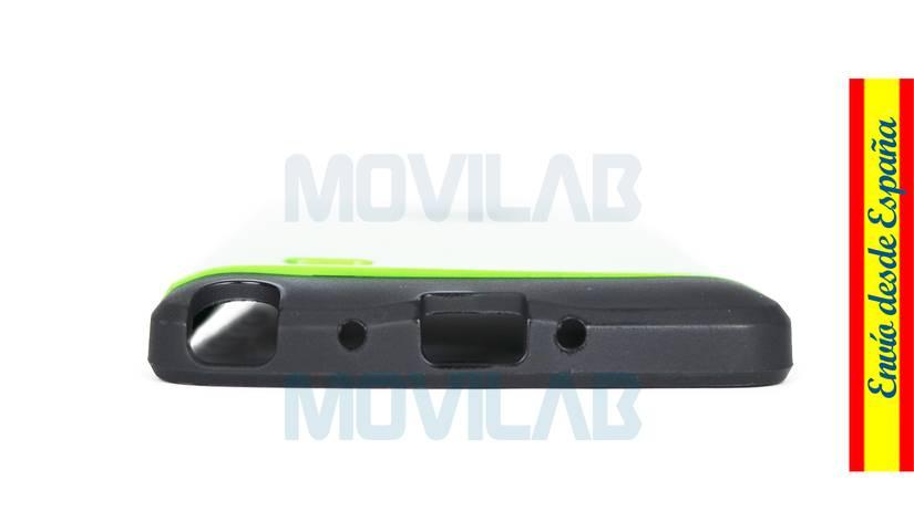 Funda carcasa Samsung Galaxy Note 4 antigolpes conectores