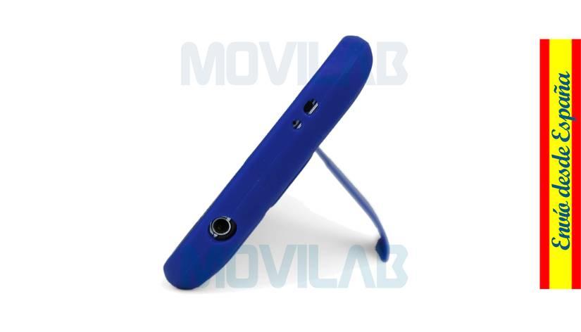 Funda carcasa Samsung Galaxy S5 soporte conectores