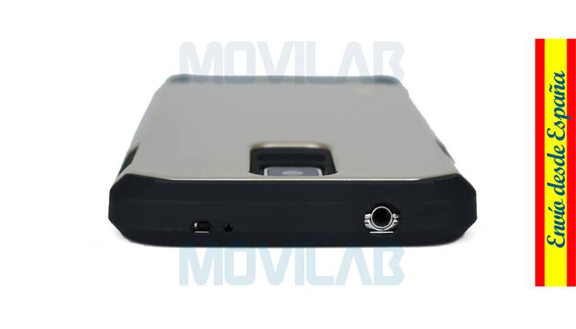 Funda carcasa Samsung Galaxy S5 antigolpes conectores