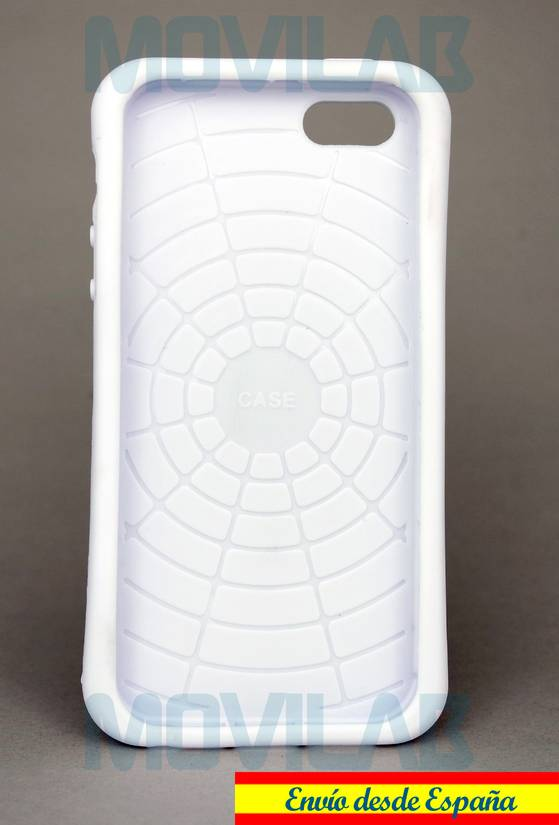 Funda carcasa Apple Iphone 5 soporte Goma TPU