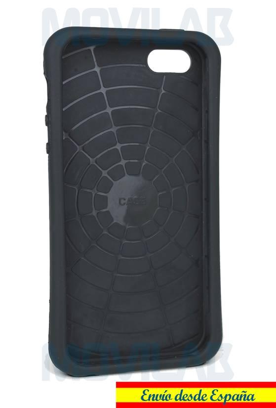 Funda carcasa Apple Iphone 5 soporte Goma TPU