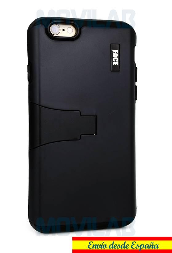7cf5364c38e Funda Apple Iphone 6 / 6S protectora / bumper con soporte color negro