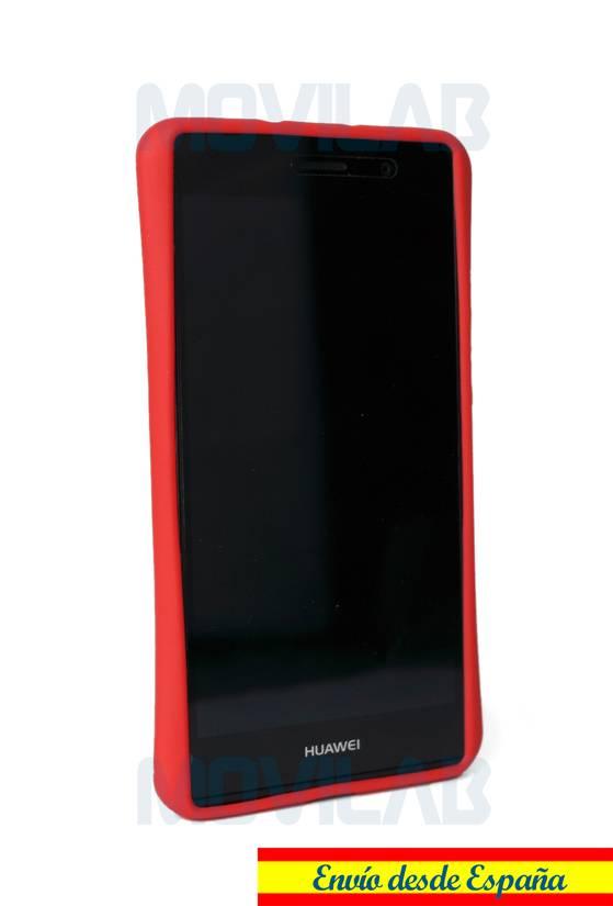 Funda carcasa Huawei P7 soporte frontal