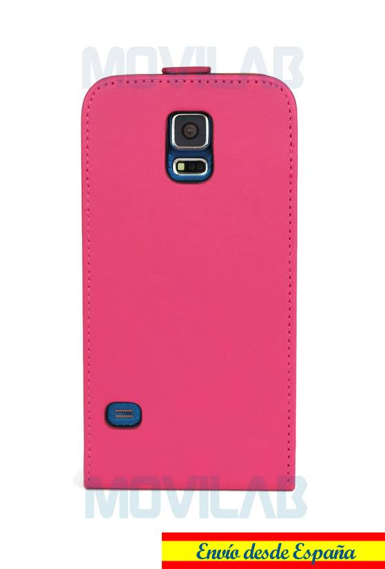 Funda tapa vertical Samsung S5 trasera