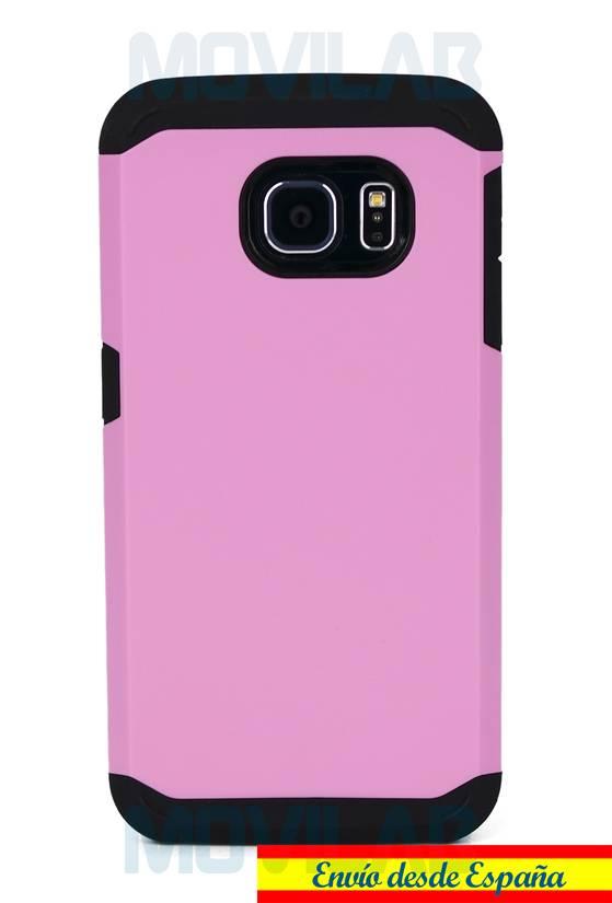 Funda carcasa Samsung Galaxy S6 Edge antigolpes trasera