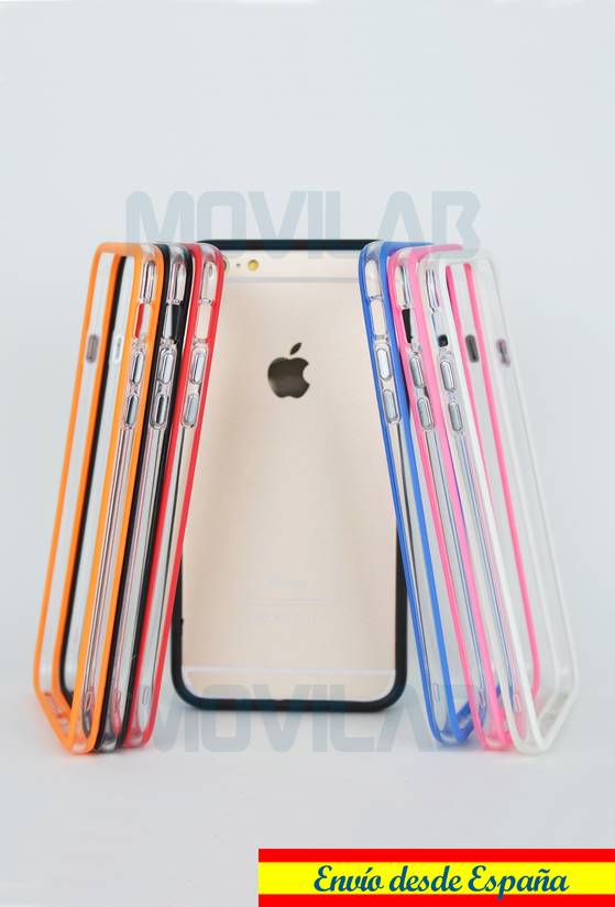 Carcasa Bumper Iphone 6 Plus colores