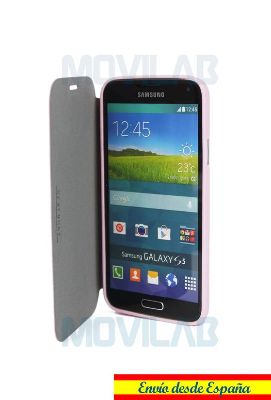 Funda Flip Samsung Galaxy S5 abierta