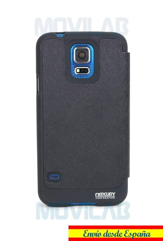 Funda flip Samsung Galaxy S5 Wow trasera