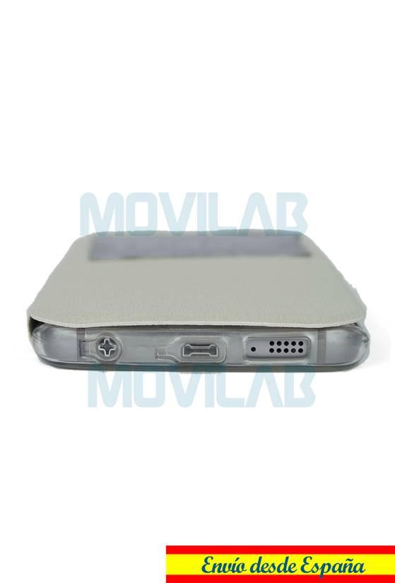 Funda Flip Samsung S6 edge conectores