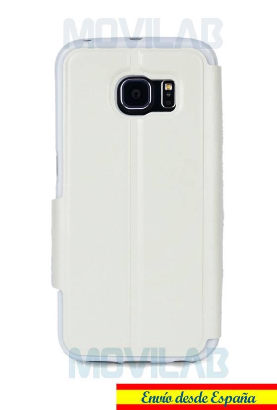 Funda flip Samsung Galaxy S6 Edge trasera