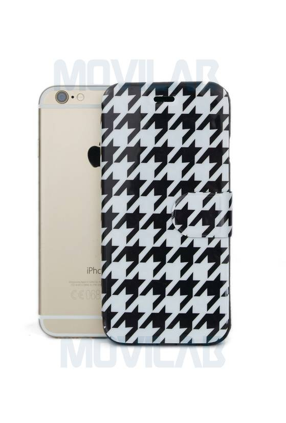 Funda tapa libro deco Apple Iphone 6 frontal