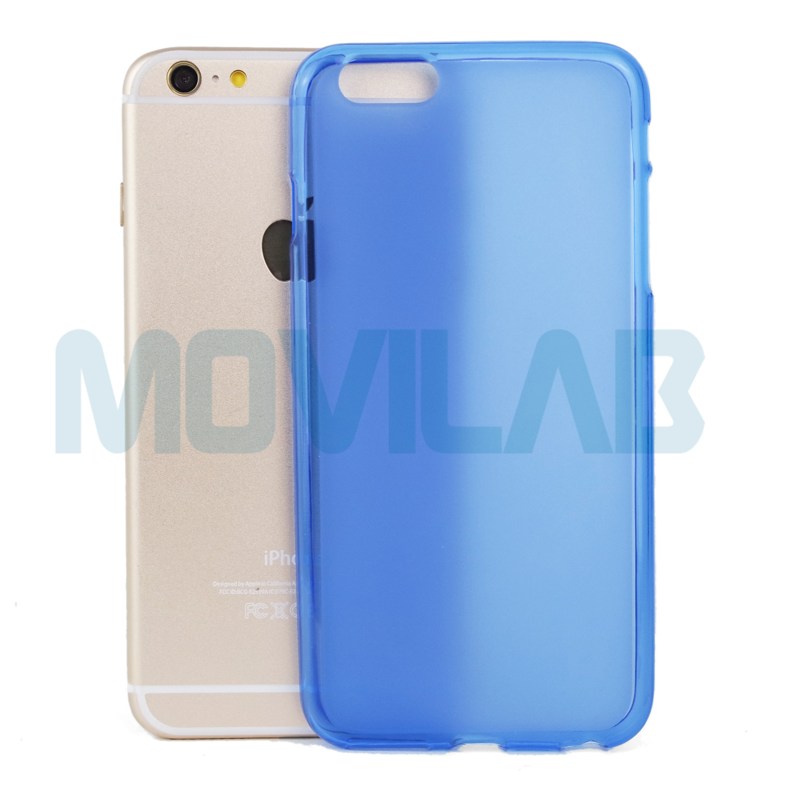 Funda gel Apple Iphone 6+ / 6S+ trasera
