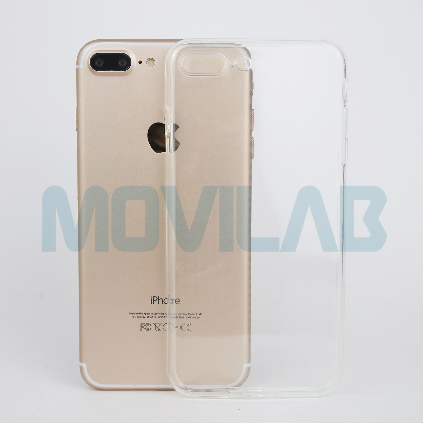 Funda semi slim 0.5 Apple Iphone 7 Plus
