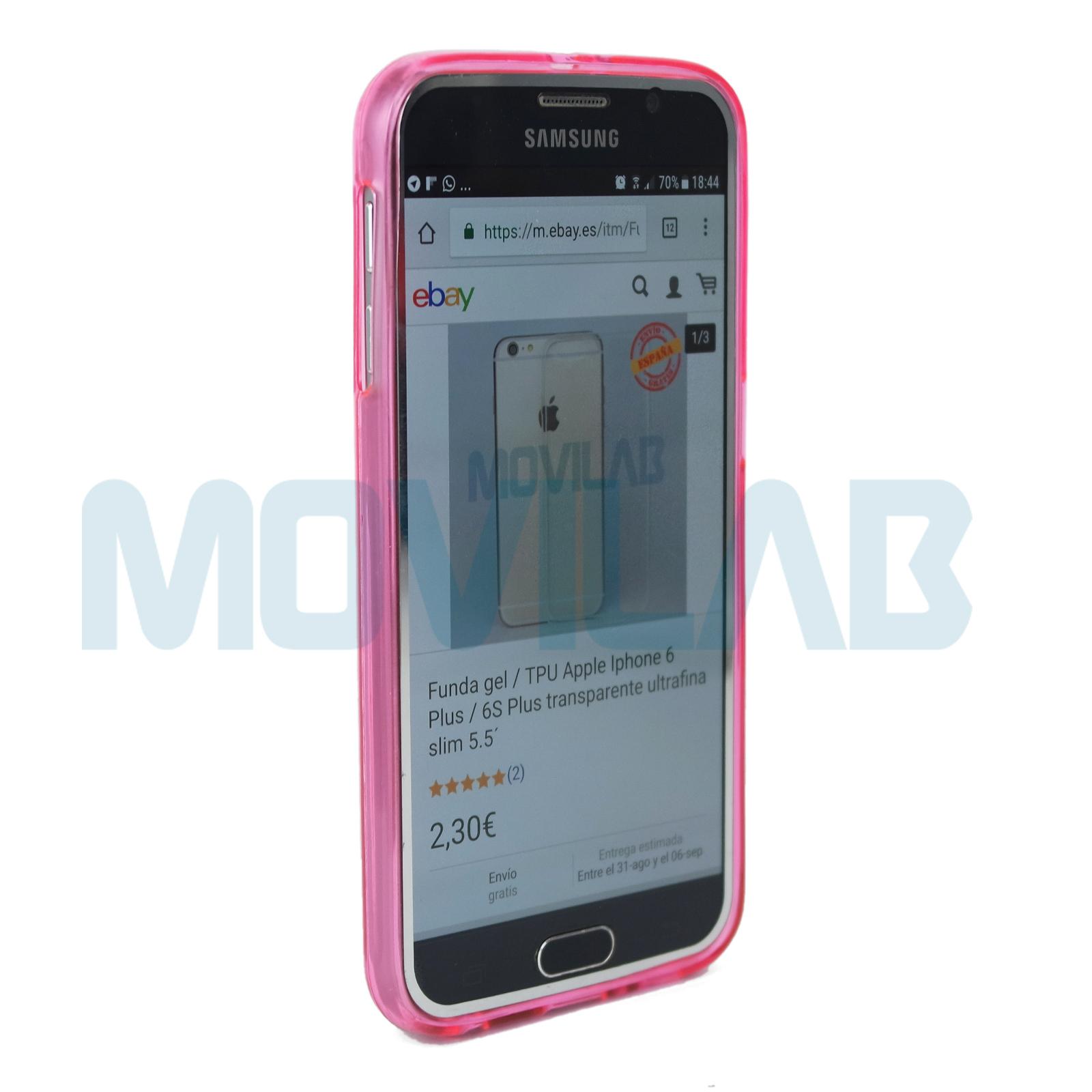 Funda  Samsung G920 frontal
