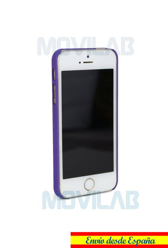 Funda seda Apple Iphone 5 diamante lateral