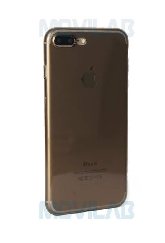 Funda carcasa Apple Iphone 7 Plus trasera 0.3