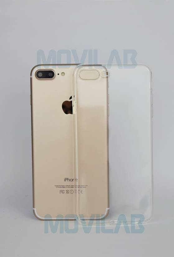 Funda semi slim 0.3 Apple Iphone 7 Plus