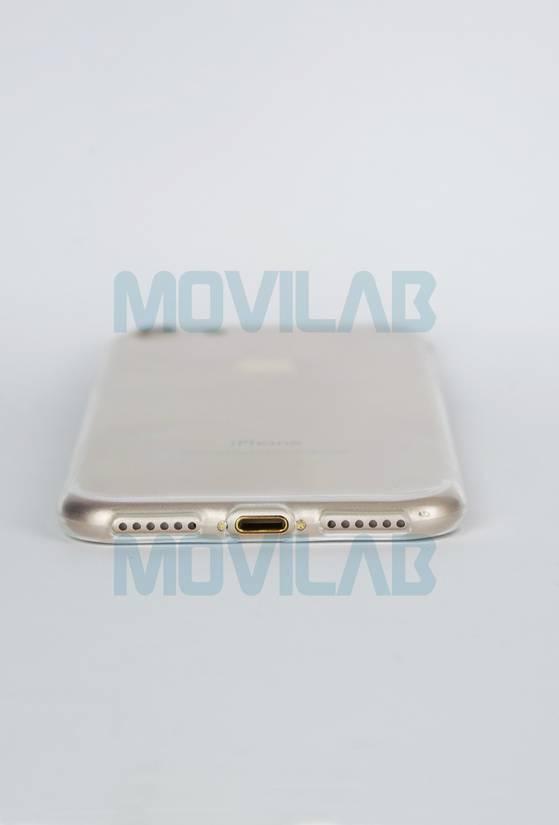 Funda Apple Iphone 7 slim 0.3 conectores