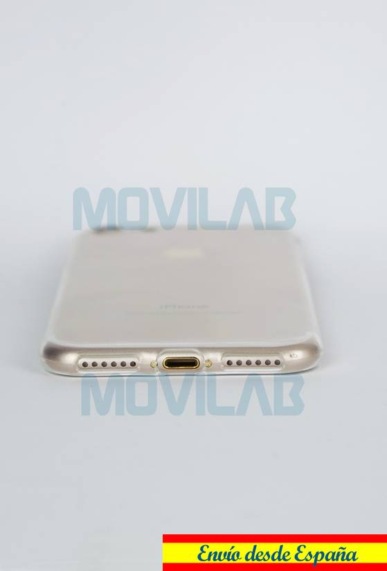 Funda carcasa Apple Iphone 7 slim 0.3 conectores