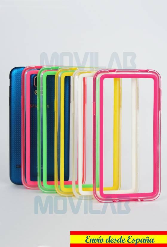 Carcasa Bumper Galaxy S5 colores