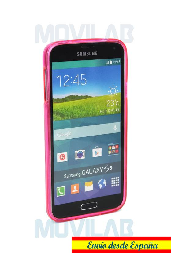 Funda gel Samsung G900 frontal