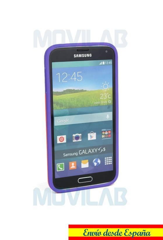 Funda gel Samsung G900 frontal