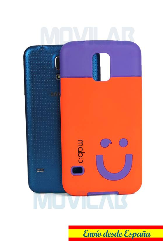 Funda gel Samsung Galaxy S5  trasera mob