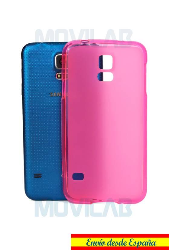 Funda gel Samsung G900 S5 par
