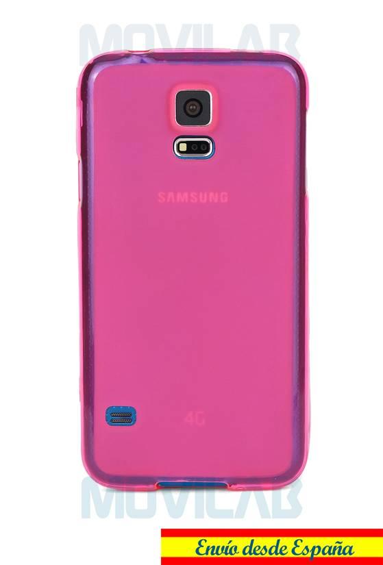 Funda gel Samsung Galaxy S5  trasera