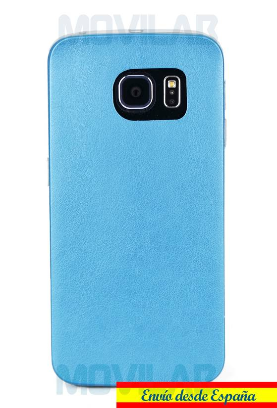 Funda gel Samsung Galaxy S6 Edge trasera