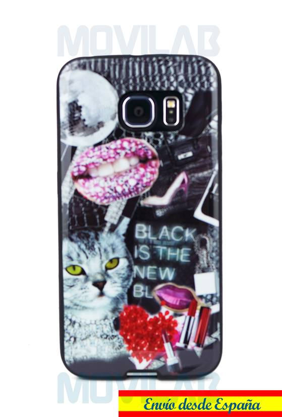 Funda semi Galaxy S6 Edge Gorjuss