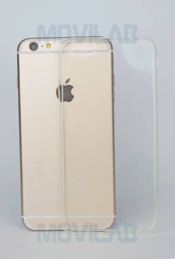 Funda gel slim Apple Iphone 6+ trasera