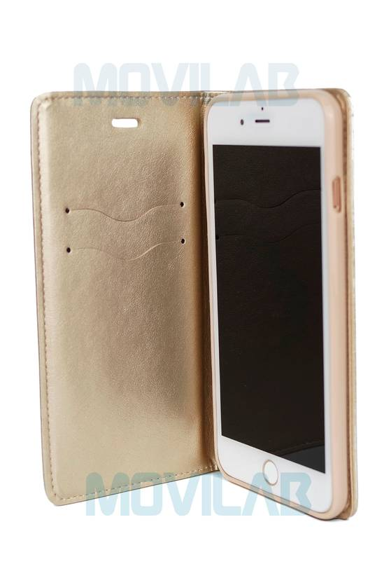 Funda Flip Apple Iphone 7 Plus magnet abierta
