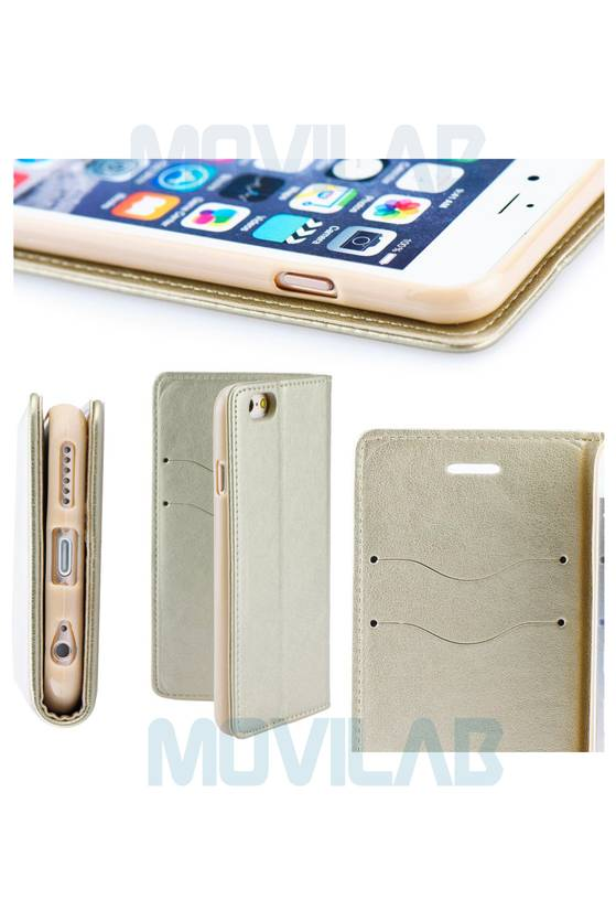 Funda tapa libro magnet Iphone 7 Plus detalles