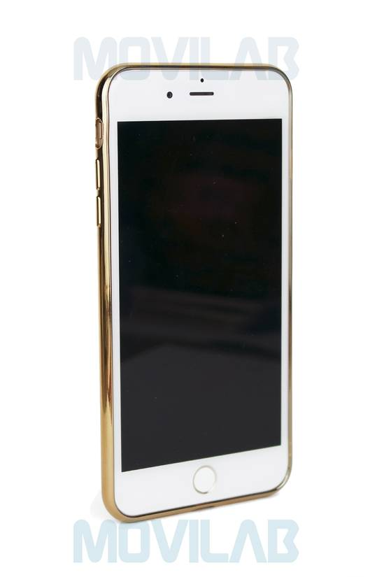 Funda Apple Iphone 7 borde dorado