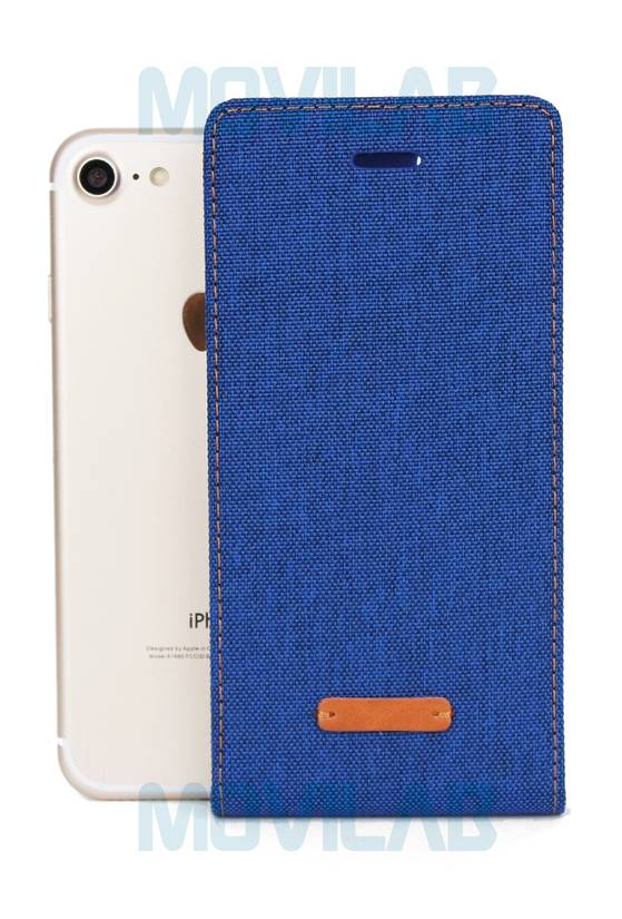 Funda tapa vertical Apple Iphone 7 Jeans