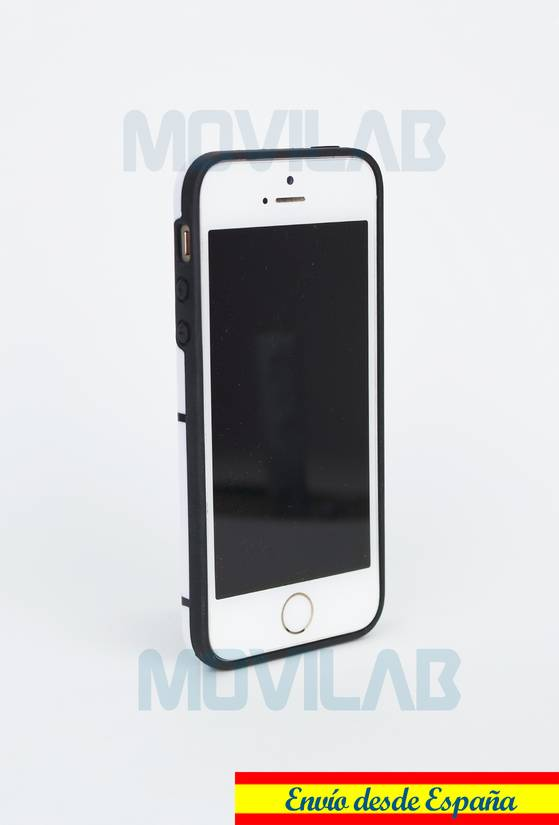 Funda gel Apple Iphone 5 lateral